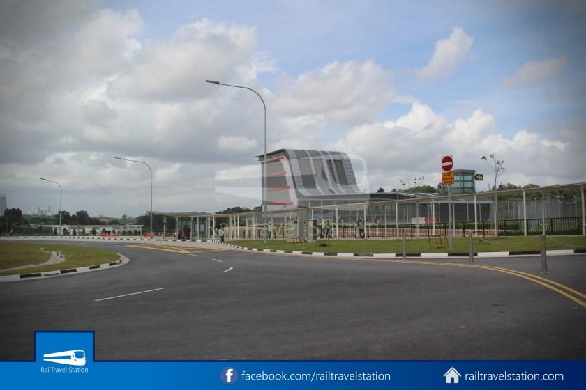 SMRT 856 Woodlands Train Checkpoint Woodlands North MRT 026
