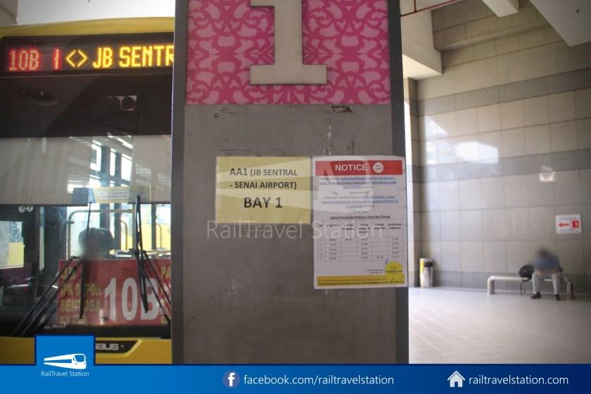 Causeway Link AA1 JB Sentral Senai Airport 9am 008