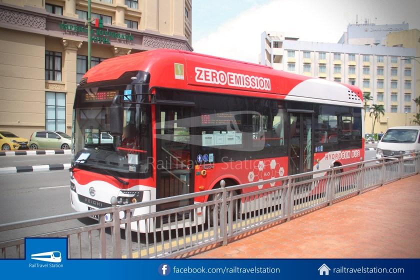 H2 Sarawak Hydrogen Bus Downtown Heritage Loop 004