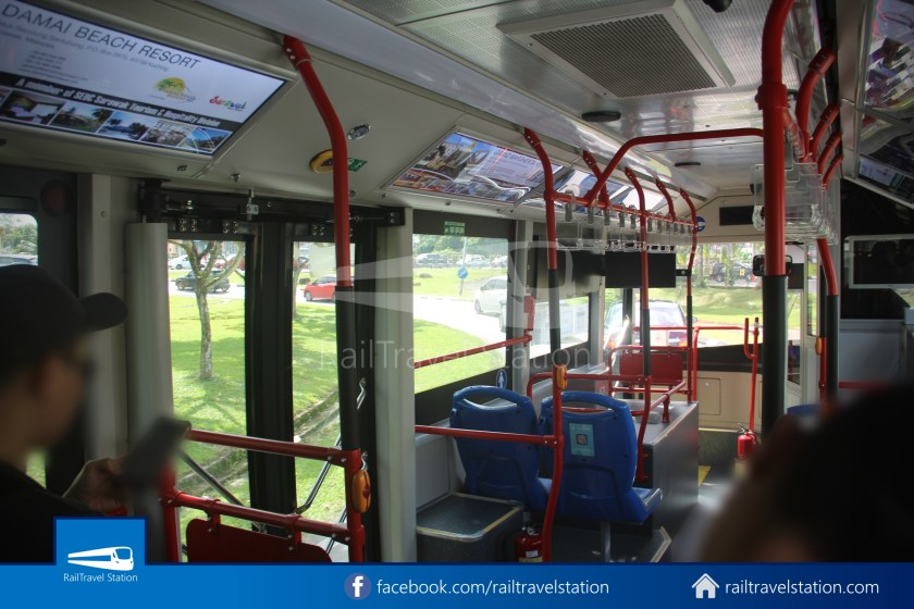 H2 Sarawak Hydrogen Bus Downtown Heritage Loop 031