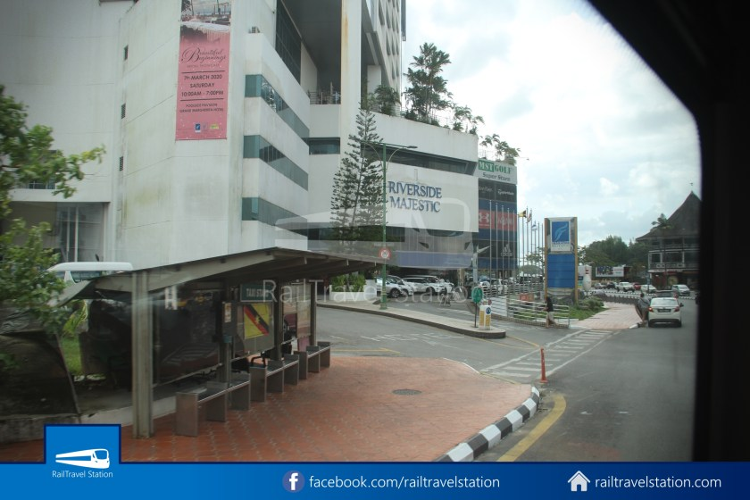 H2 Sarawak Hydrogen Bus Downtown Heritage Loop 090