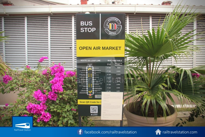 Kuching Open Air Market Bus Terminal 002