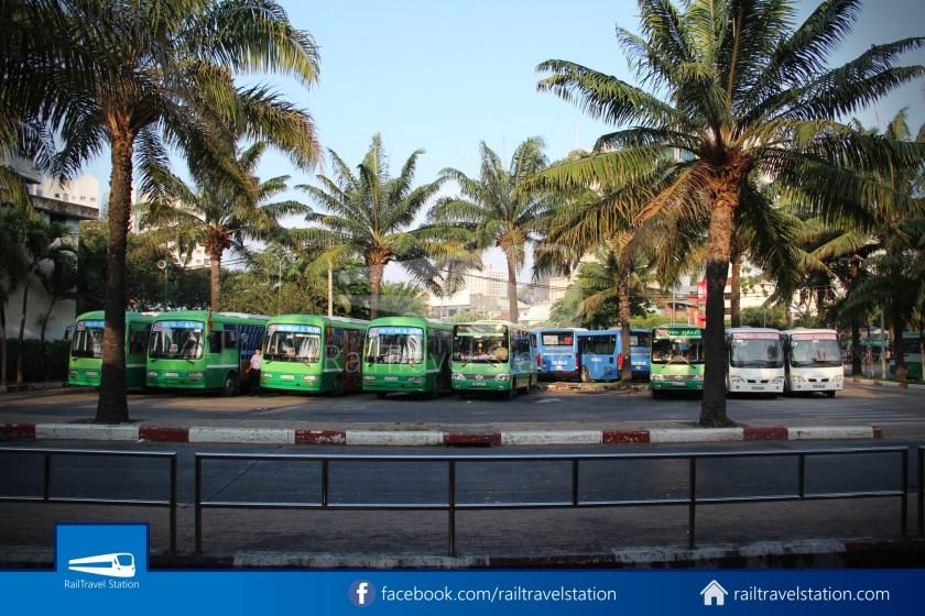 Airport Bus 109 23-9 Park Pham Ngu Lao Tan Son Nhat International Airport 05