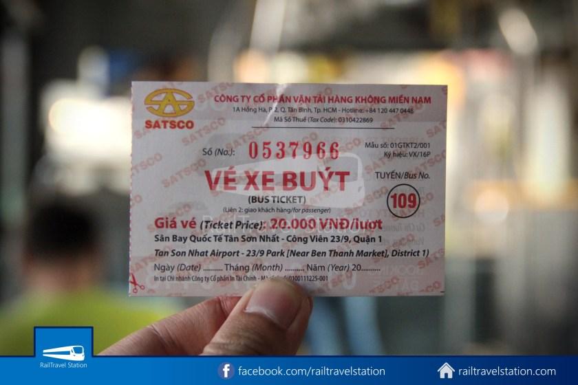 Airport Bus 109 23-9 Park Pham Ngu Lao Tan Son Nhat International Airport 18
