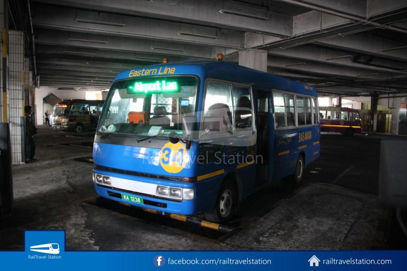 Brunei-Muara Public Bus Service 34 BSB Bus Terminal Airport 04