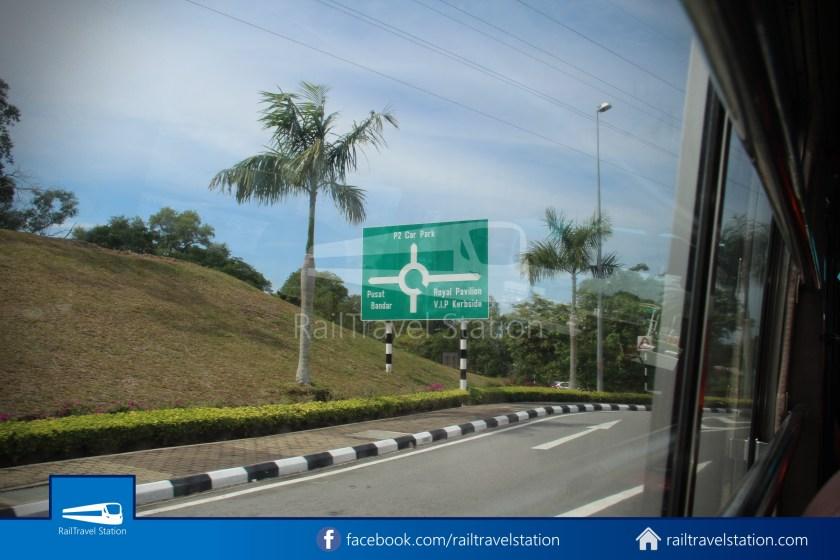 Brunei-Muara Public Bus Service 34 BSB Bus Terminal Airport 22
