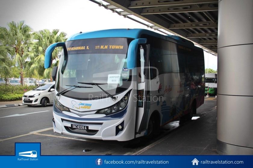 Kota Kinabalu Airport Bus KKIA Padang Merdeka 07
