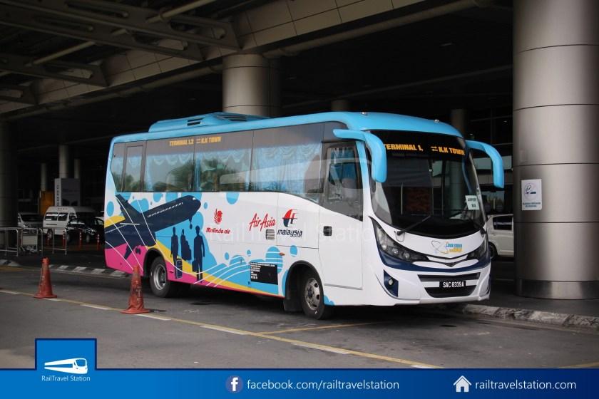 Kota Kinabalu Airport Bus KKIA Padang Merdeka 08