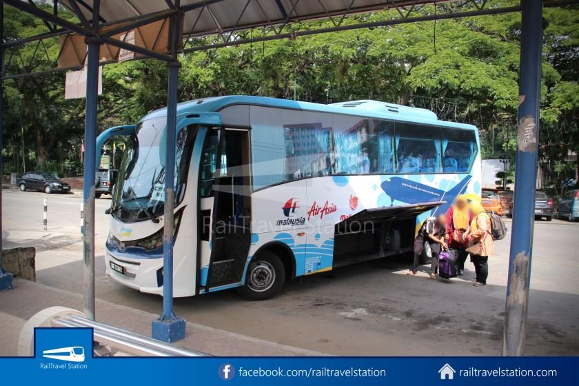 Kota Kinabalu Airport Bus KKIA Padang Merdeka 33
