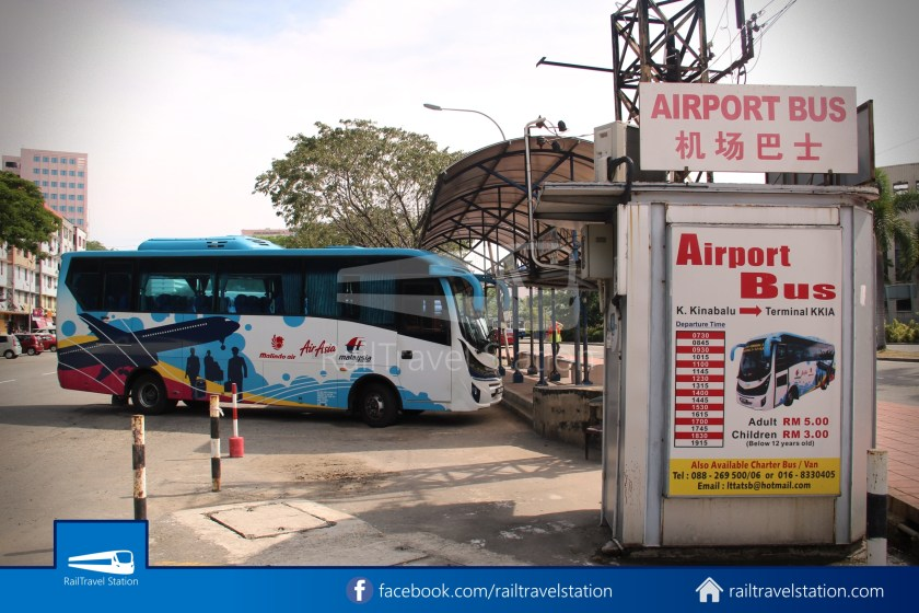 Kota Kinabalu Airport Bus KKIA Padang Merdeka 34