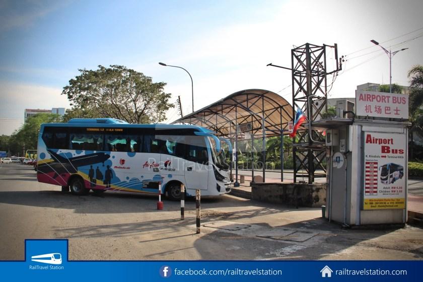 Kota Kinabalu Airport Bus Padang Merdeka KKIA 05