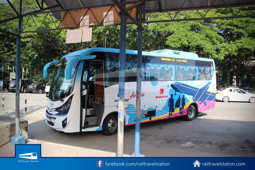 Kota Kinabalu Airport Bus Padang Merdeka KKIA 06