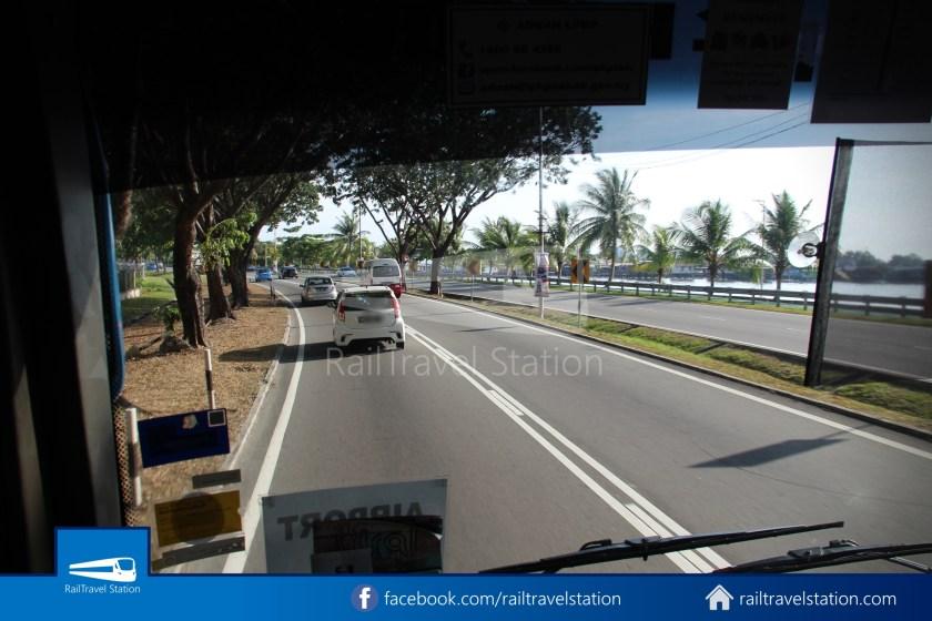 Kota Kinabalu Airport Bus Padang Merdeka KKIA 14