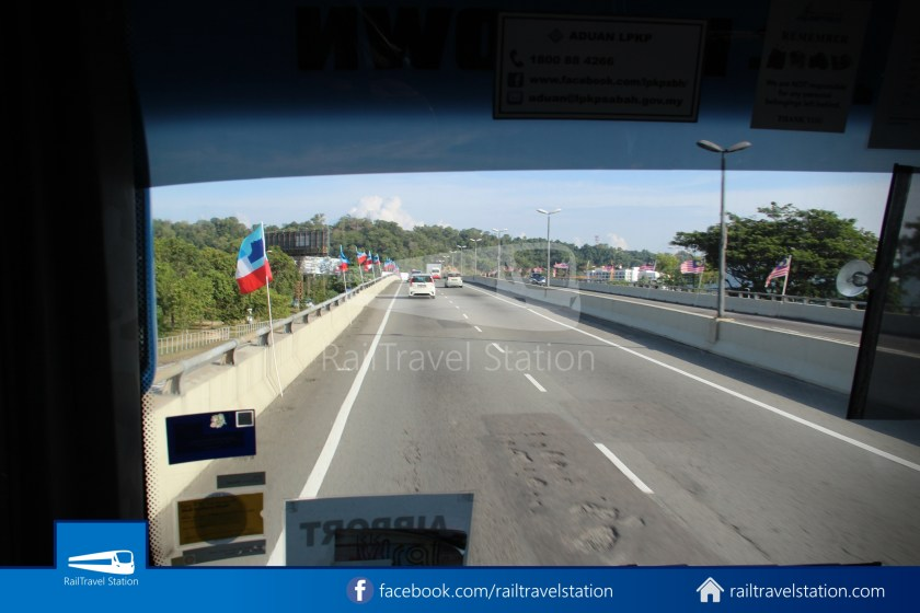 Kota Kinabalu Airport Bus Padang Merdeka KKIA 15