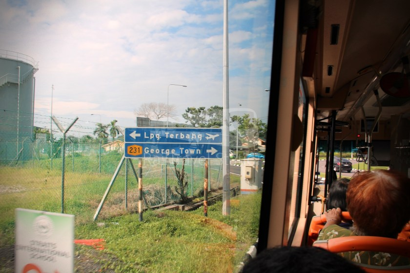 Rapid Penang 401E KOMTAR Airport 13