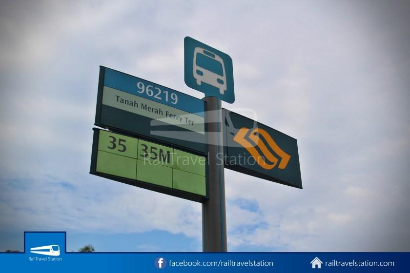 SBSTransit Service 35 Tanah Merah Ferry Terminal Tanah Merah MRT 02