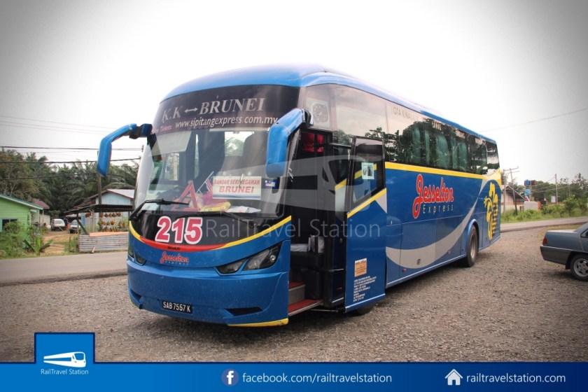 Sipitang Express Kota Kinabalu Bandar Seri Begawan 041