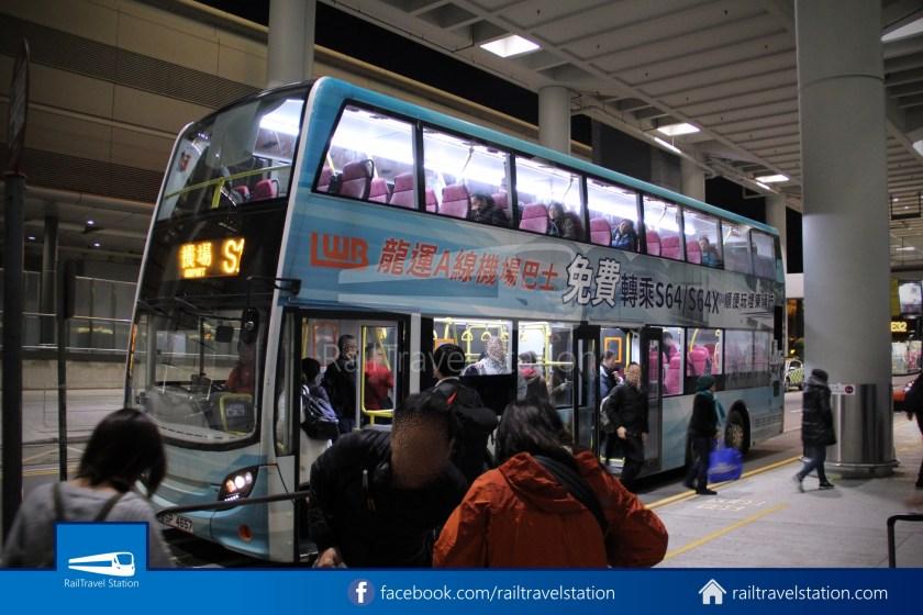 Citybus Long Win Bus Service S1 Hong Kong International Airport To Tung Chung Mtr Station By Bus Railtravel Station