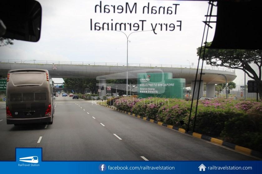 Tanah Merah Ferry Terminal Changi Airport Shuttle Bus 13