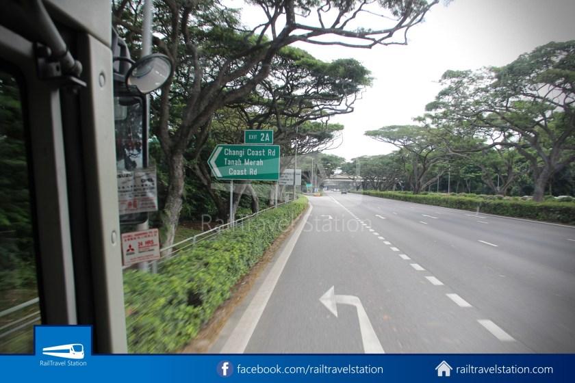 Tanah Merah Ferry Terminal Changi Airport Shuttle Bus 14