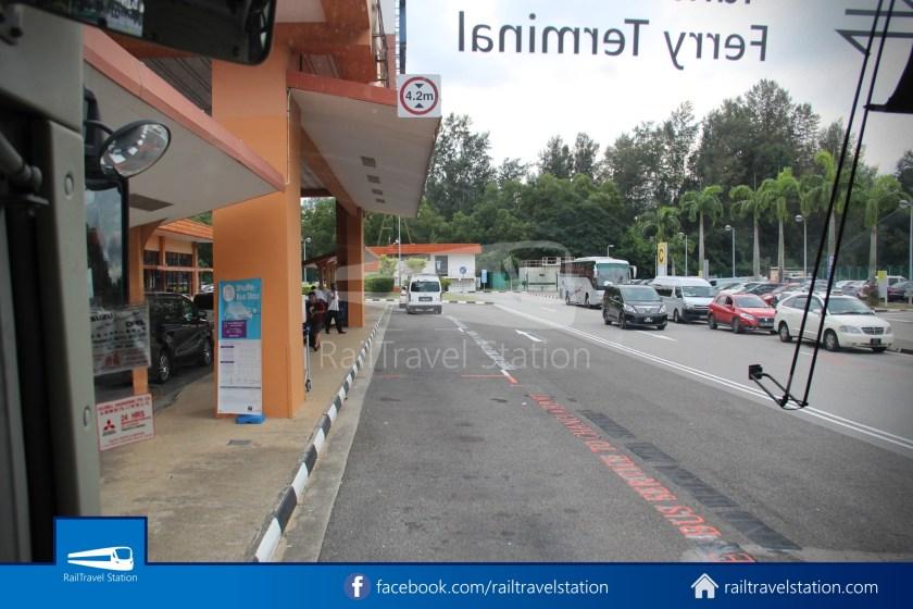 Tanah Merah Ferry Terminal Changi Airport Shuttle Bus 21