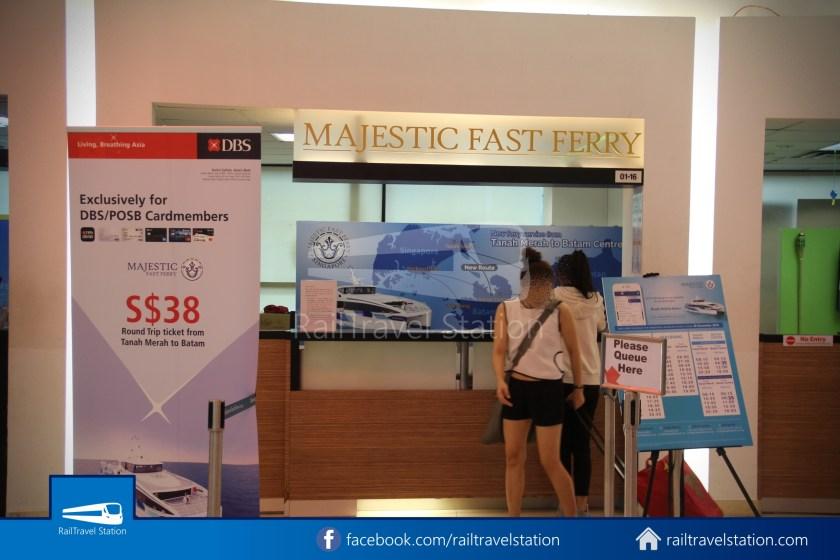 Tanah Merah Ferry Terminal Changi Airport Shuttle Bus 30