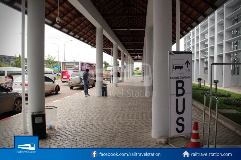 Vientiane City 2 Bus Service Airport Shuttle Airport Nam Phu 004