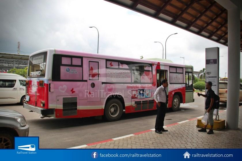 Vientiane City 2 Bus Service Airport Shuttle Airport Nam Phu 005