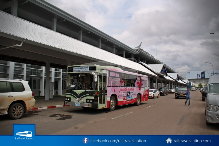 Vientiane City 2 Bus Service Airport Shuttle Airport Nam Phu 008