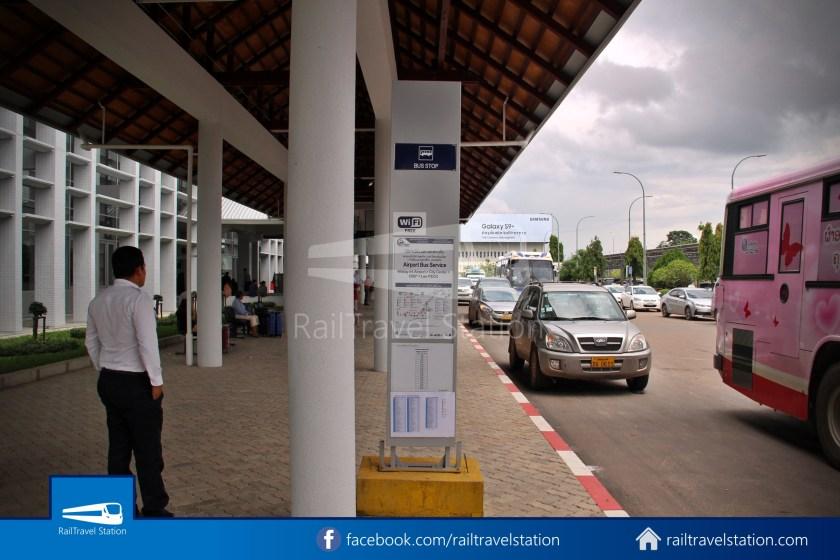 Vientiane City 2 Bus Service Airport Shuttle Airport Nam Phu 014