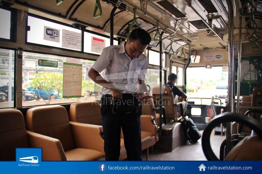 Vientiane City 2 Bus Service Airport Shuttle Airport Nam Phu 029