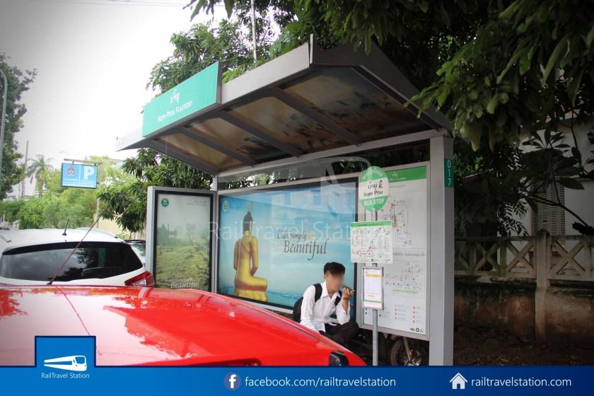 Vientiane City 2 Bus Service Airport Shuttle Airport Nam Phu 038
