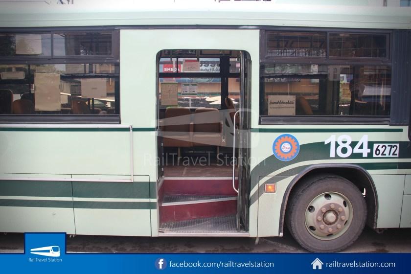 Vientiane City 2 Bus Service Airport Shuttle CBS Airport 005