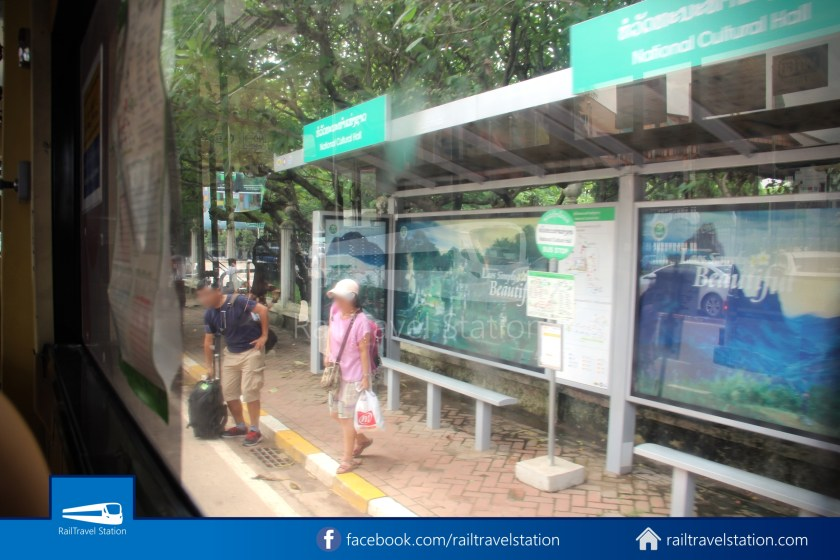 Vientiane City 2 Bus Service Airport Shuttle CBS Airport 022