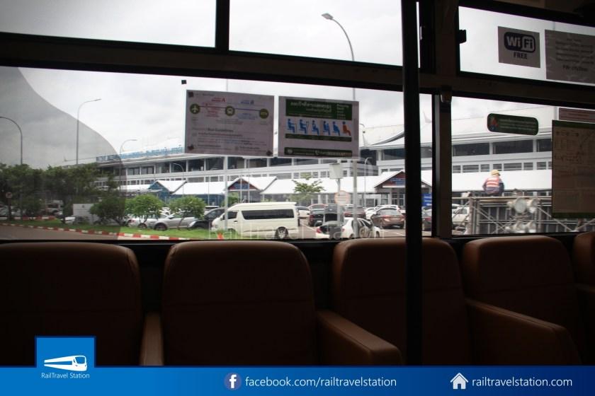 Vientiane City 2 Bus Service Airport Shuttle CBS Airport 027