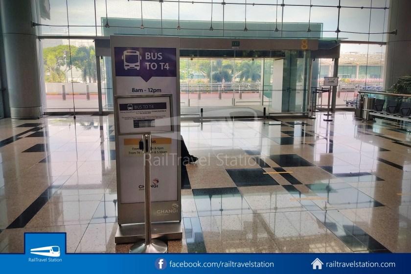 Changi Airport T4 Bus Lounge T3 Public Temp 001