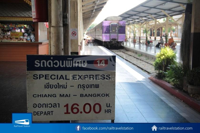 Special Express 14 Chiang Mai Bangkok Hua Lamphong 2012 003