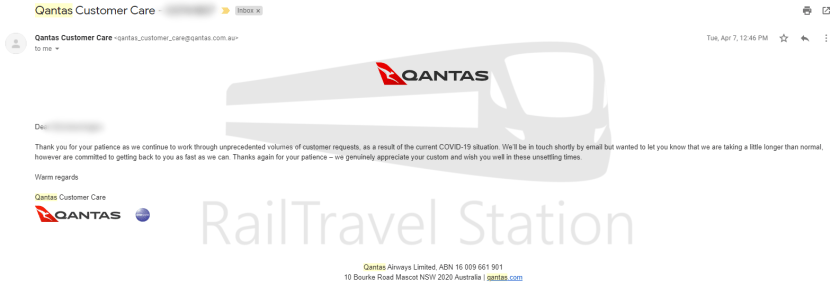Qantas Refund Process COVID-19 003