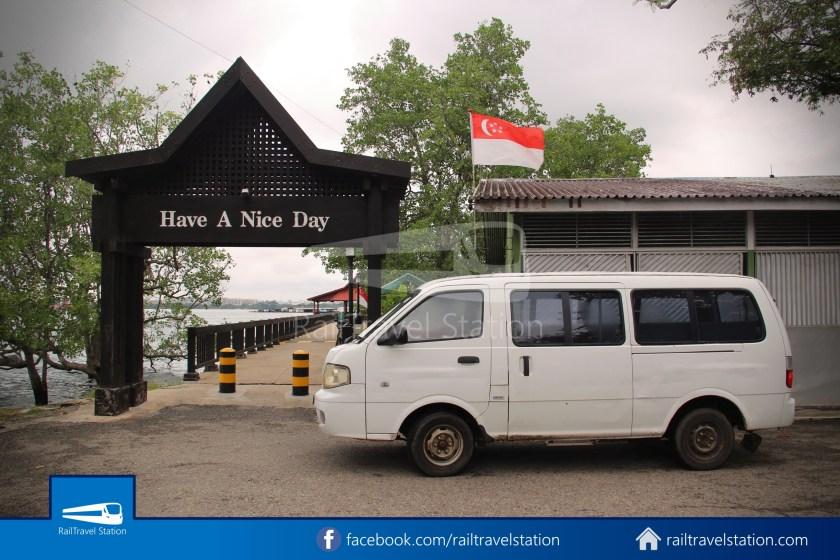 Pulau Ubin Taxi Van Chek Jawa Wetlands Main Jetty 010