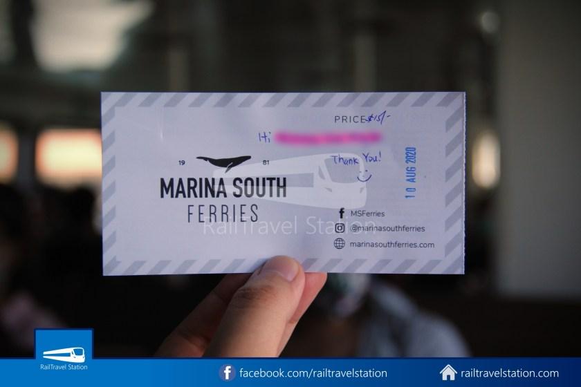 Marina South Ferries Kusu Island St John Island Marina South Pier 021