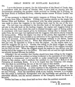 Appendix B report, 1911'