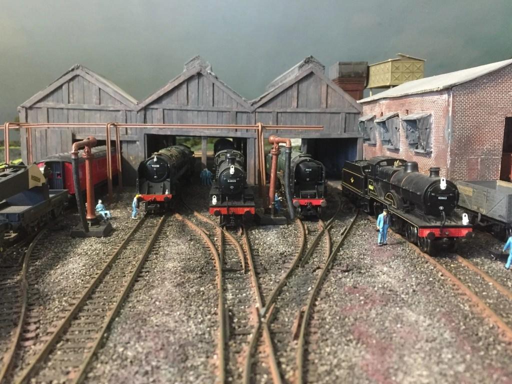 Green Park model railway