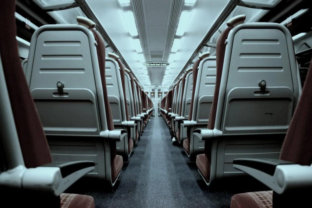 train seat picture
