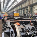 Exclusive access to Eastleigh Works