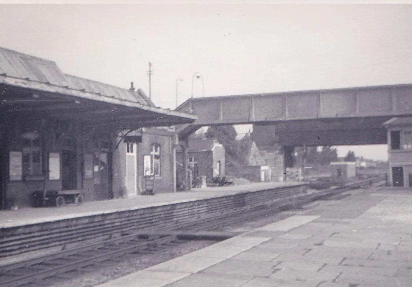 Highbridge and Burnham on Sea Station June 1971