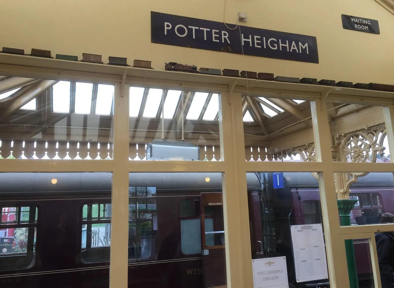 Sherringham Railway Station