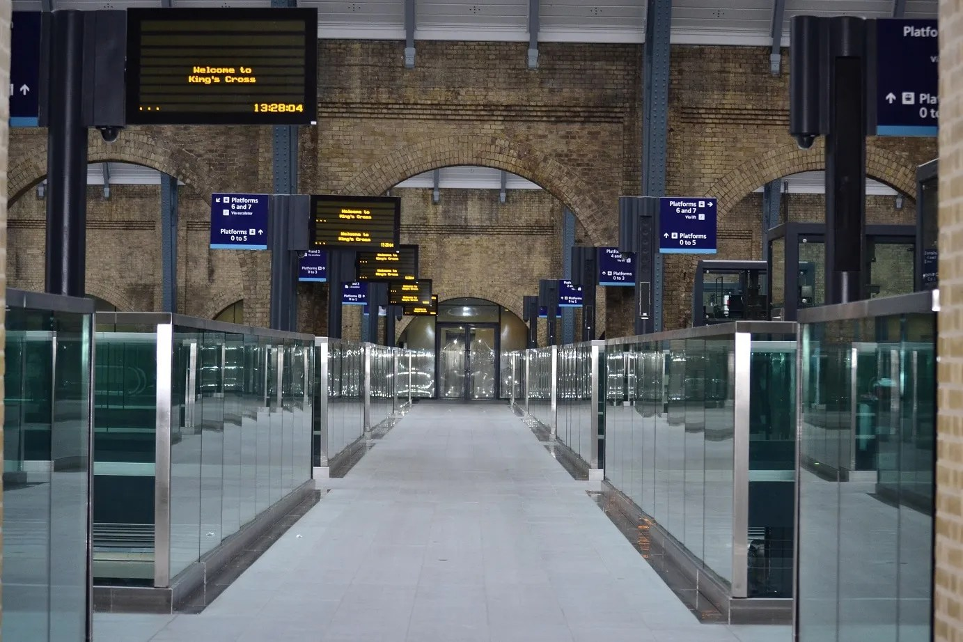 save money on train travel with my tips - Kings Cross Station
