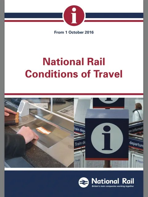 national rail conditions of travel
