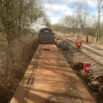 Volunteers bring new life to the Somerset and Dorset railway