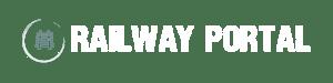 Schriftzug Railway Portal transparent